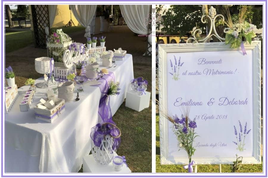 Confettata Matrimonio Country Chic : A fragrant lavender wedding in perfect shabby chic style