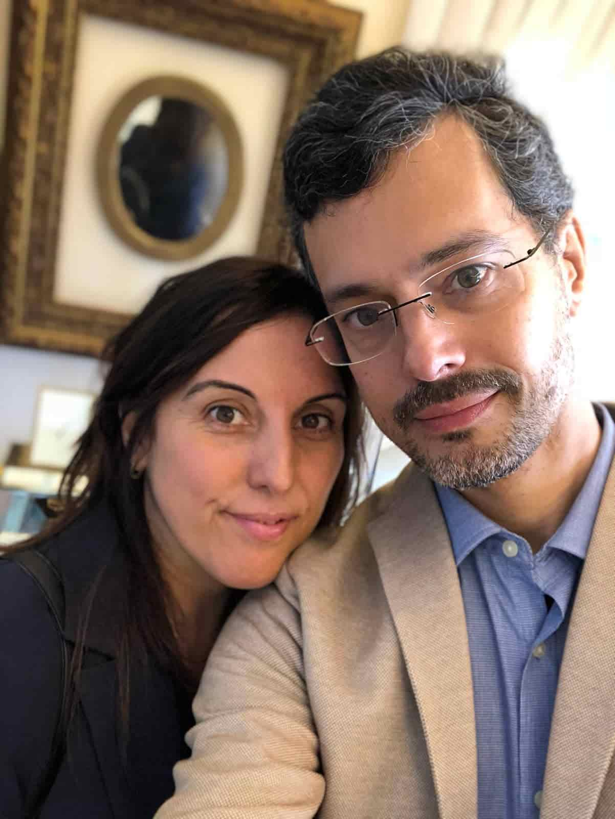 Chiara Di Bari e Marco Caltagirone